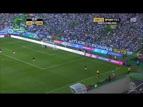 (Full Match) Part 1 AS Roma vs Sporting Lisbon (1-8-2015)