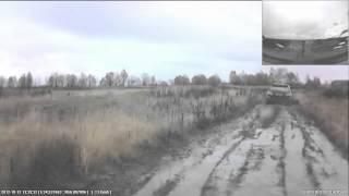 Езда по хреновой дороге на TOYOTA Harrier