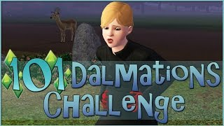 Sims 3 || 101 Dalmatians Challenge: An Extremely Over-excitable Deer - Episode #22