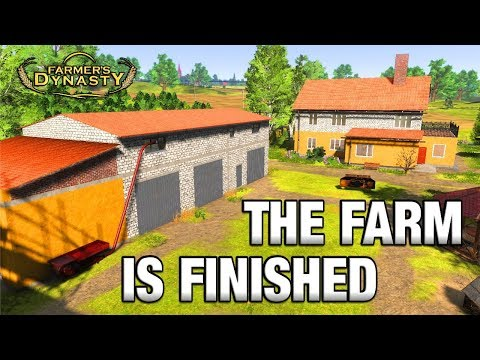 THE FARM IS FINISHED | Farmer's Dynasty Episode 22
