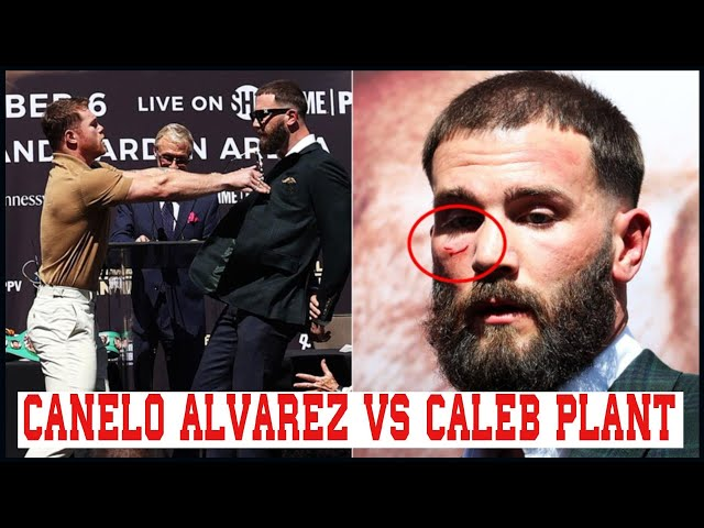 CANELO ALVAREZ MOST CONSIDERABLE LOUSY BLOOD IN HIS CAREER IS AGAINST CALEB PLANT