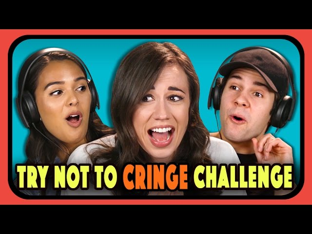 YouTubers React To Try Not To Cringe Challenge
