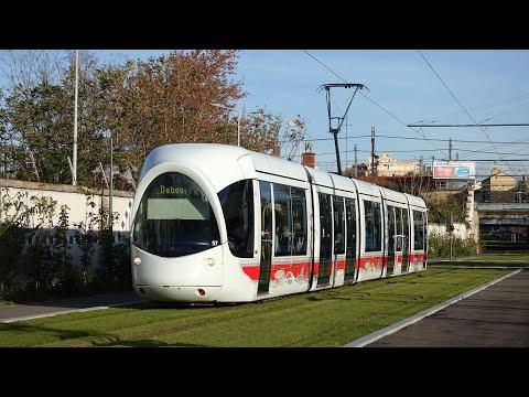 Tramway De Lyon - Ligne T6 - Premier Jour