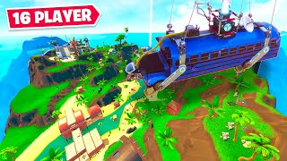 *NEW* 16 Player MINI Battle Royale in Fortnite!