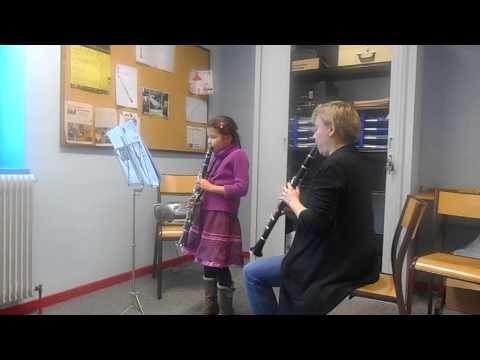 Roxanne-Lou: Première année de clarinette
