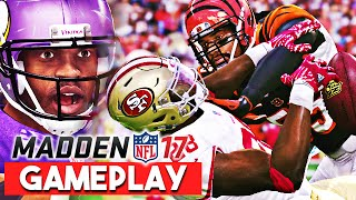 Madden 17 Gameplay First Impressions - Ball Carrier Moves, Zone Defense, and Gap Assignments