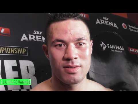 Joseph Parker Post-Fight interview after beating Razvan Cojanu to defend WBO heavyweight title