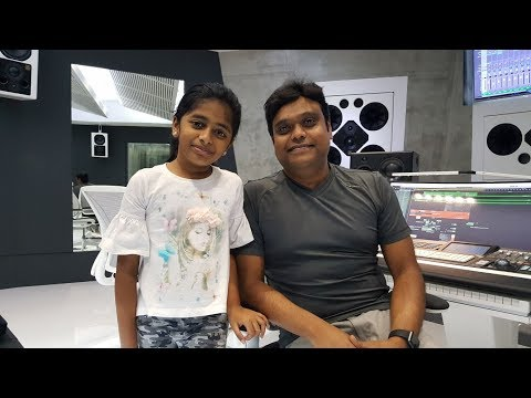 Praniti meets Harris Jayaraj in his Studio H | Singing HJ Super Hit Songs