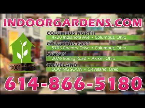 Indoor Gardens Ohio Hydroponic Store in Columbus TV commercial 2017