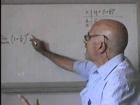 LimB2 - Limiti Noti: Num. Di Eulero