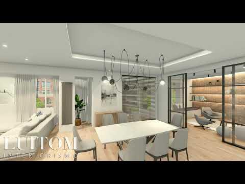 Proyecto Reforma Lujo en Madrid 🎦 Luxury Home interior design project
