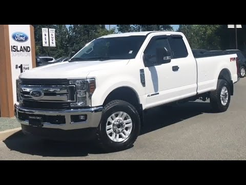 2019 Ford F-250 XLT 603A 6.7L Diesel SuperCab Review| Island Ford