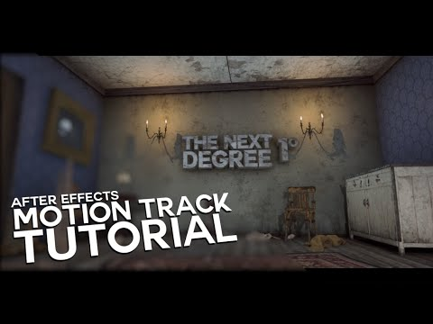 How To 3D Motion Track In After Effects (Element 3D)