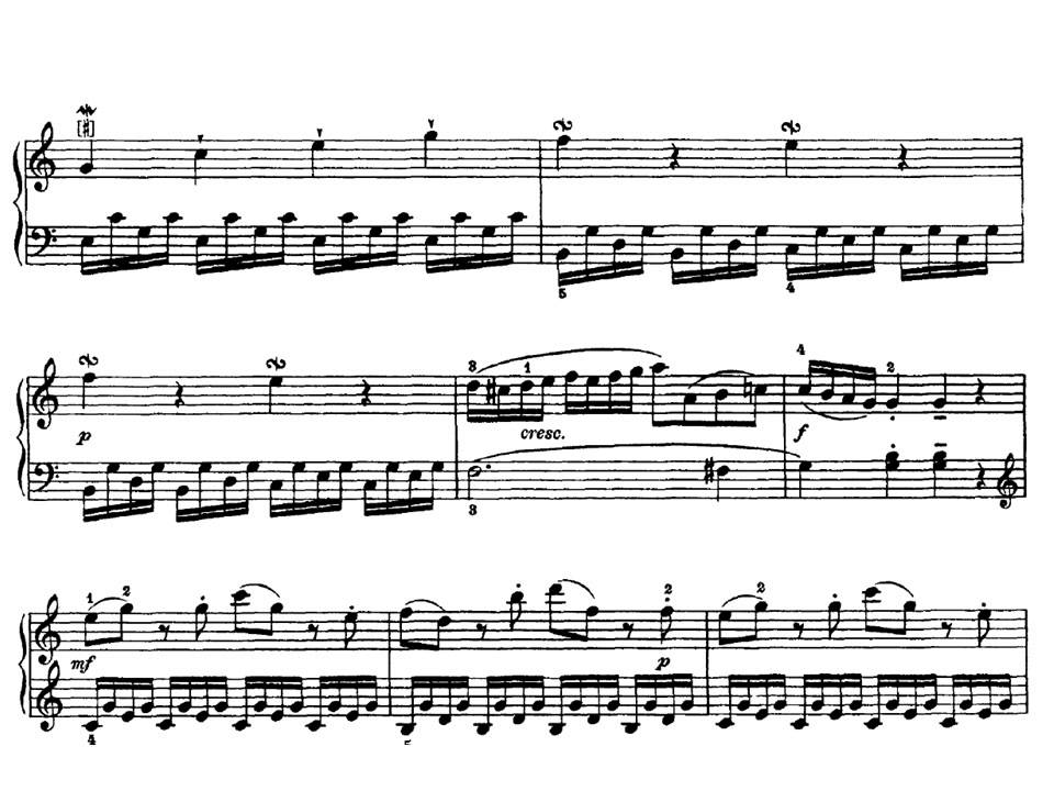 j haydn sonata n 10 en do mayor hob xvi 1 i allegro youtube rh youtube com vi 1040 vi1
