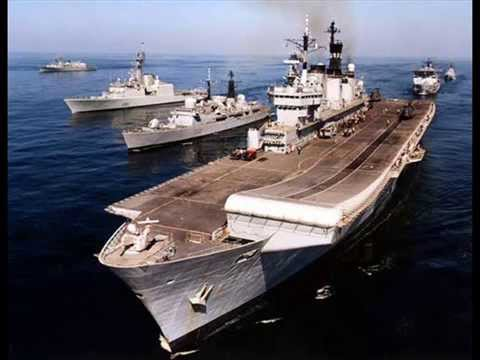The British Fleet is Sailing (Falklands War Song 1982)