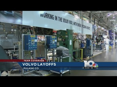 Volvo to lay off 734 employees from Dublin plant, Pulaski Co