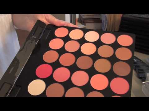 Organic Makeup: Angel Cosmetics Mineral Makeup by Linda Shepard