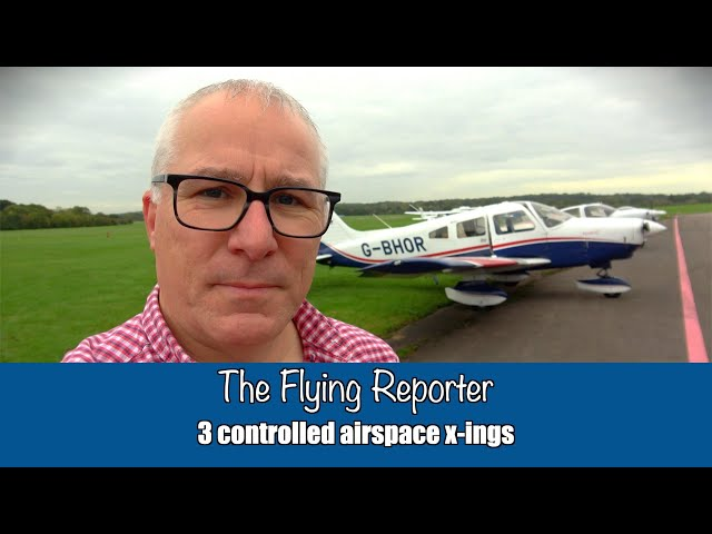 3 controlled airspace crossings in 45 minutes