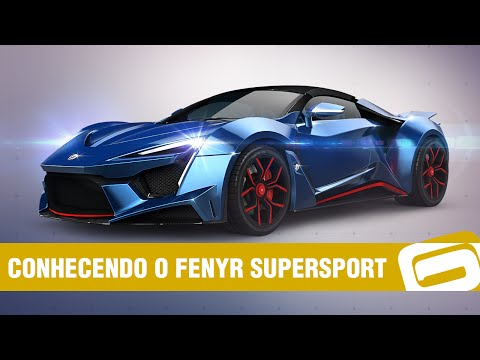 Asphalt 8 – Fenyr Supersport