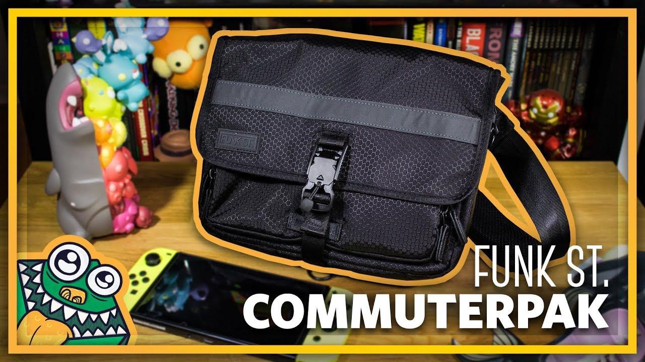 79ca5c4d9 Nintendo Switch Travel Bag  Commuterpak - Kickstarter - Unboxing and  Overview