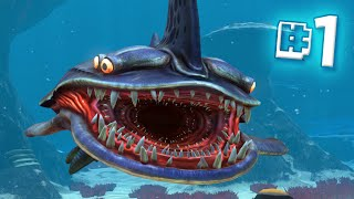 the dangerous ocean   subnautica ep 1