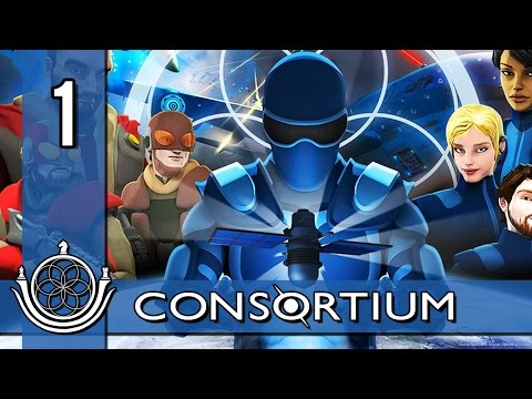 Let's Play Consortium Part 1 - Introduction to Zenlil [Consortium Gameplay/Walkthrough]