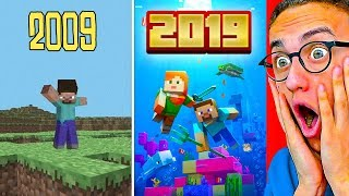 THE EVOLUTION OF MINECRAFT! 2009 - 2019