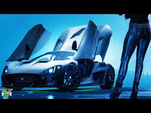 GTA 5 $6,000,000 OCELOT XA-21 JAGUAR F-TYPE DLC SPENDING SPREE - GTA 5 ONLINE DLC UPDATE (4K Stream)
