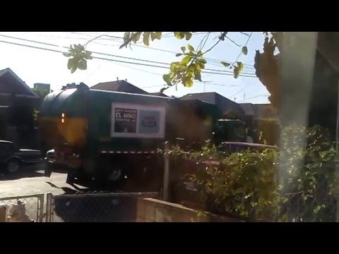 Los Angeles Bureau of Sanitation Trucks - February & March 2016