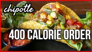 Weight Loss Secrets | My Chipotle Order Under 400 Calories