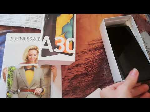 Получила подарок от компании, телефон Samsung Galaxy A30