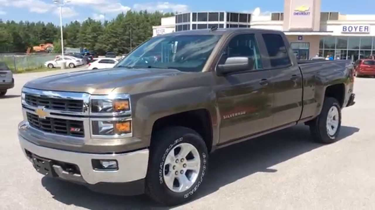 2014 Chevrolet Silverado 1500 4WD Double Cab | Boyer Cherolet ...