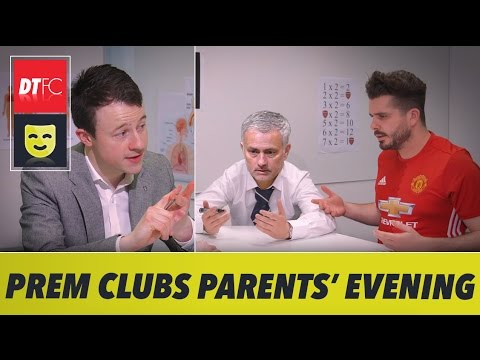 When Premier League clubs go to parents' evening