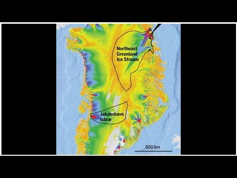 Rapid melting of Greenland glacier could raise sea levels for decades