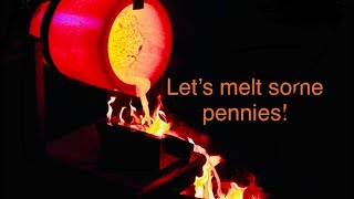 Copper Penny  hoard 2012 hyperinflation coinflation 135 pounds of copper pennies