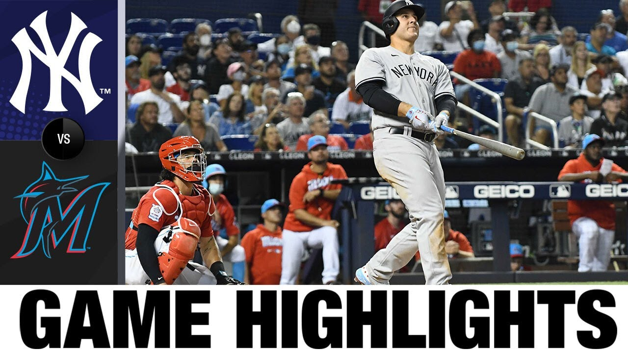 Download Yankees vs. Marlins Game Highlights (7/31/21) | MLB Highlights