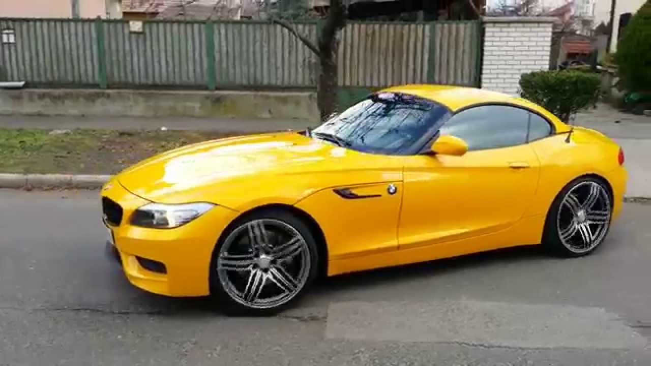 Bmw Z4 3 5 Performance Walkaround And Sound Youtube