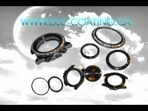 DLC - Black Diamond Crystal Coating for Watches, Rings and Jewellery