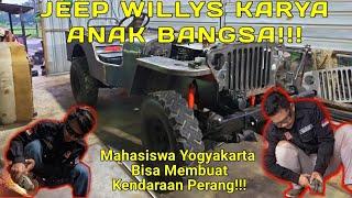 REPLIKA JEEP WILLYS   Buatan Mahasiswa UNY  Part 1