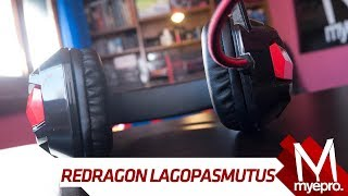 AURICULARES CON VIBRACION - Redragon Lagopasmutus Review