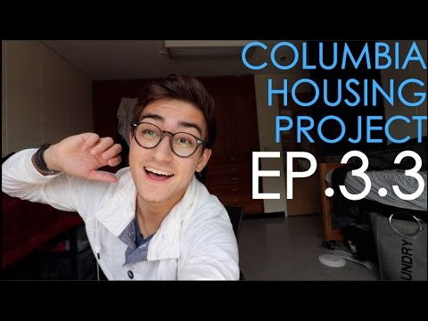 CHOOSING MY ROOM AT COLUMBIA UNIVERSITY!!