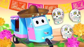 Спецвыпуск к Празднику Мёртвых - автомобильный город - мультик для детей