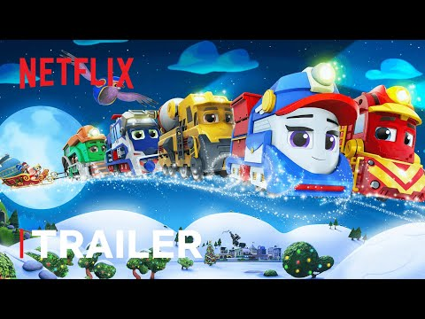 Mighty Express: A Mighty Christmas Trailer ? Netflix Jr
