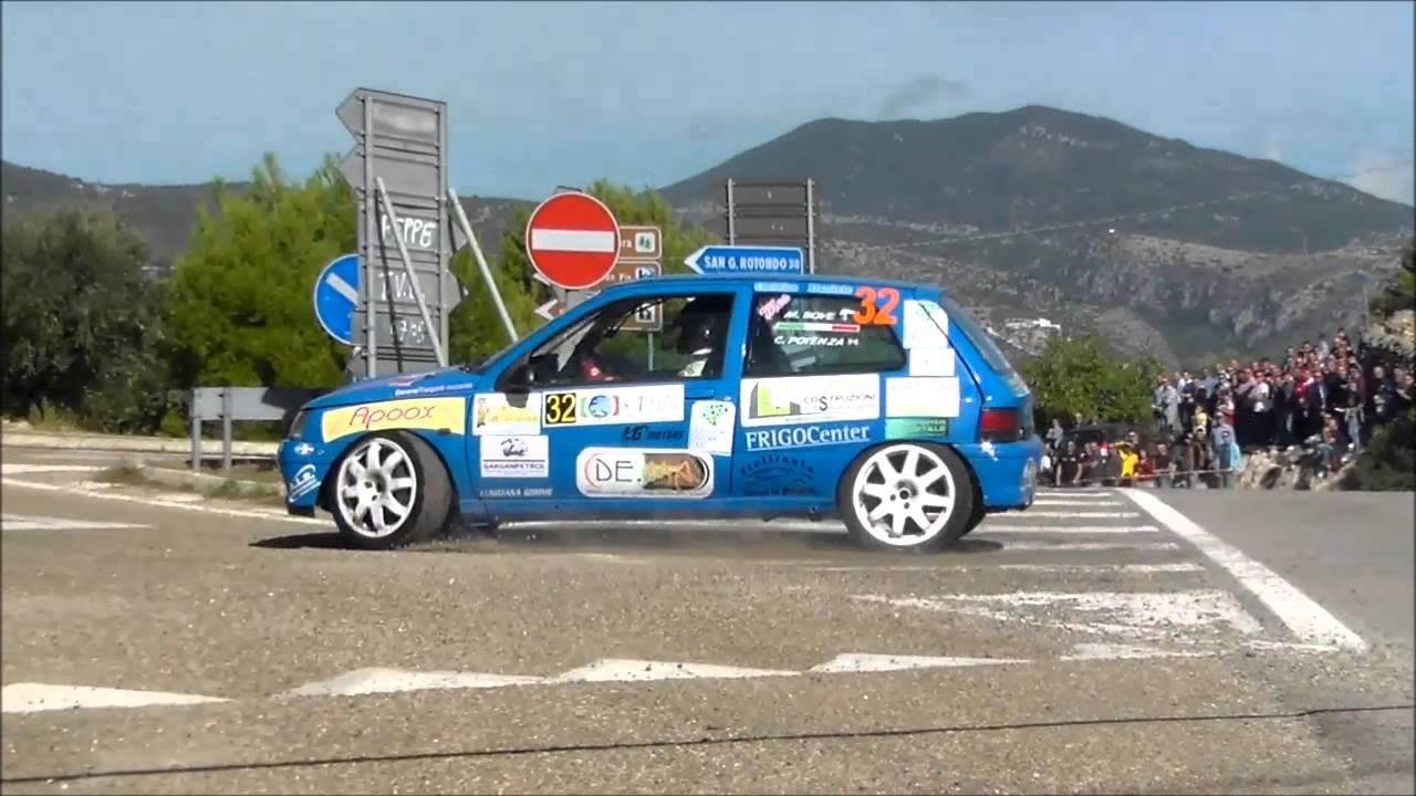 5 Rally Porta Del Gargano 2015 Ps4 Crash And Show Youtube