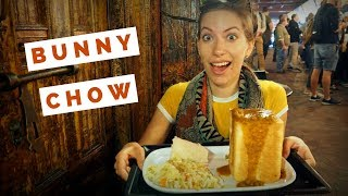 Bunny Chow Curry Review - Eating South African Indian Food in Cape Town, South Africa