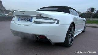 LOUD Aston Martin DBS Volante - Amazing Start up + REVS!!