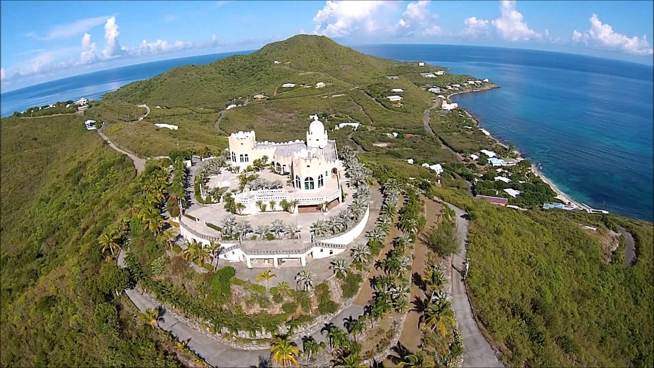 Karte von Christiansted Virgin Islands