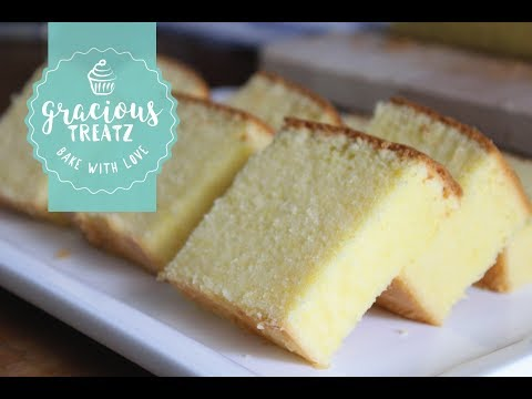 How To Bake Super Soft Moist Butter Cake Easy