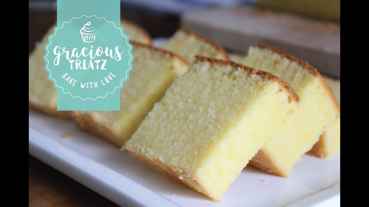 Resepi Kek Butter Moist