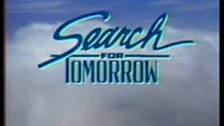 """Search For Tomorrow Closing Theme 1986 (""""Somewhere in the Night"""")"""